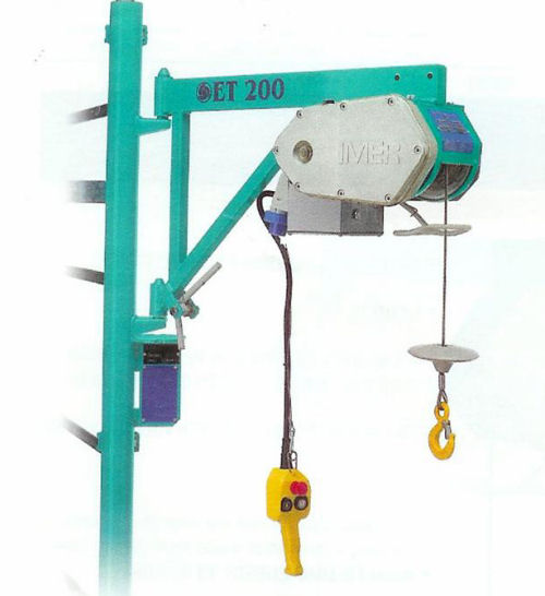 Scaffold Hoists and Buckets