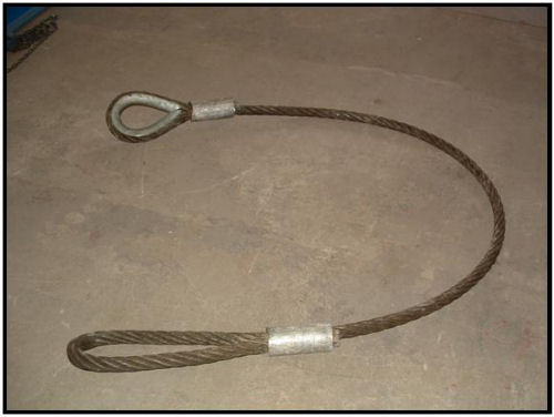 Specifications for Wire Rope Sling