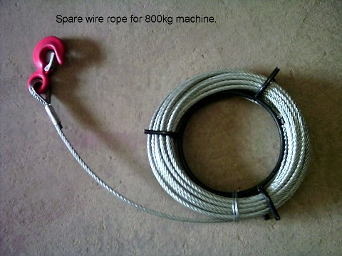 8.3mm Spare Rope and Hook Fittings