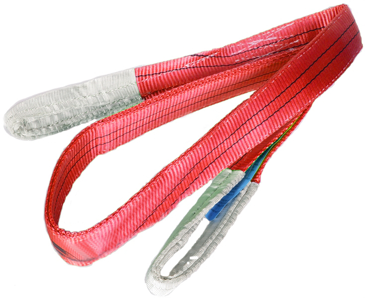 5 Tonne SWL Red Webbing Slings