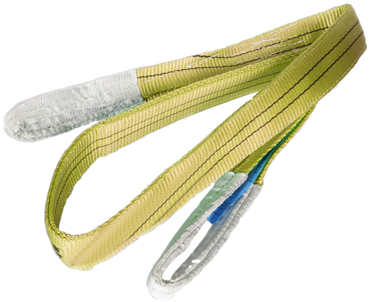 3 Tonne SWL Yellow Webbing Slings